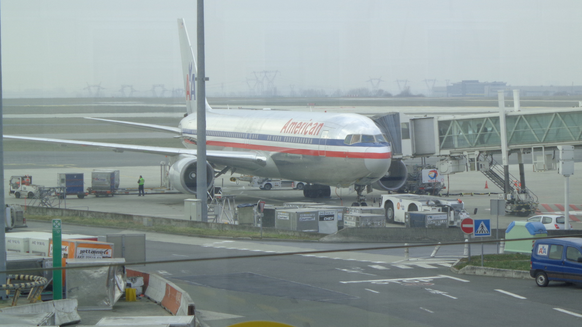 Départ de l'Aeroport de Paris Charles de Gaulle !   iufm ri